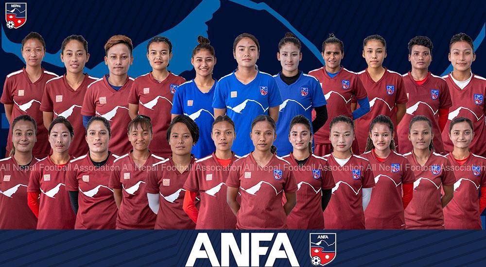 नेपाल र बंगलादेशकाे महिला टोलीबीच मैत्रीपूर्ण फुटबल आज
